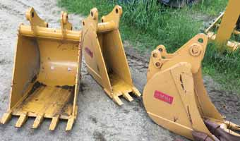 excavator attachment hire