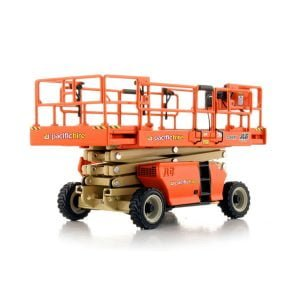 Rough Terrain Scissor lift 12.06m (electric)