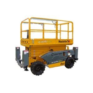 Rough Terrain Scissor Lift 12m (electric)