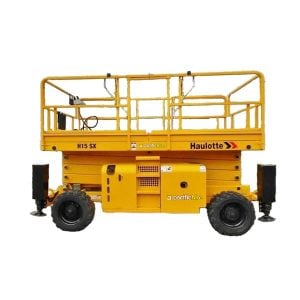 Rough Terrain Scissor Lift 15m (electric)