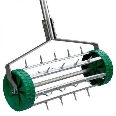 Beyondfashion 35cm Spiked Rolling Grass Lawn Aeration Roller 36cm Garden Soil Fertilize B00O61WGIS_3-500x500-product_popup