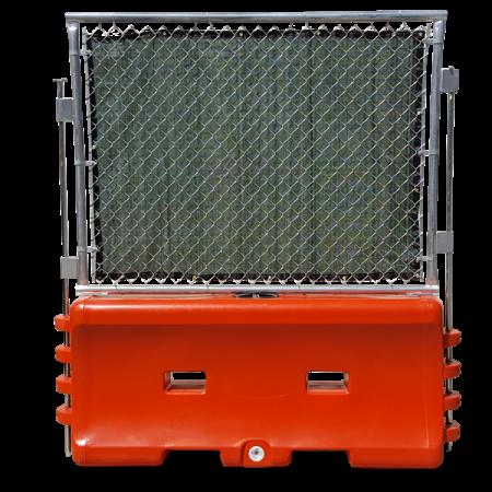 Gawk Screen on a water barrier