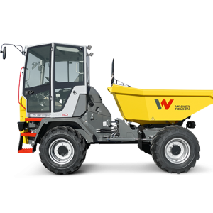 Closed Cab Site Dumper